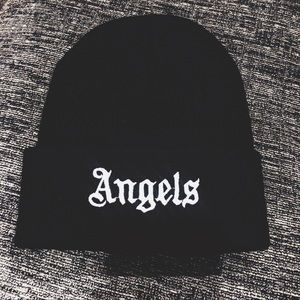 ANGELS Embroidered Beanie Hat